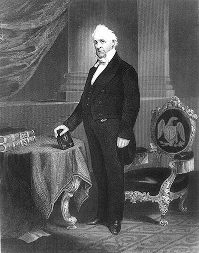 James Buchanan image