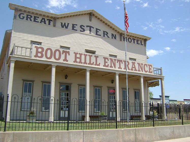 Boot Hill Museum image