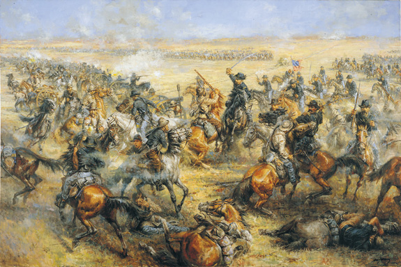 Battle of Mine Creek image