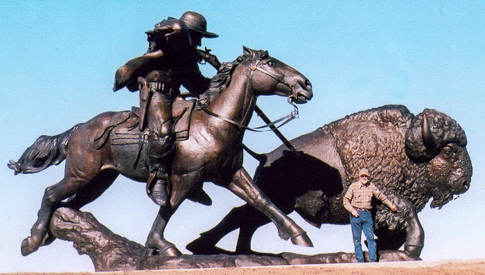 Buffalo Bill Statue image