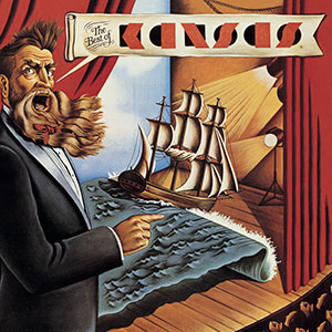 Kansas Album Cover image