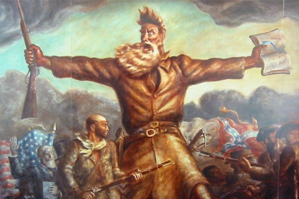 Bleeding Kansas Mural